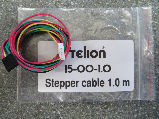 Stepper motor cable 1.0m