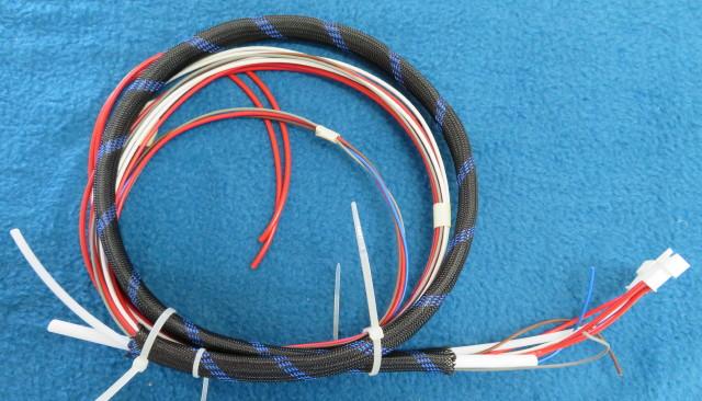 Left U-loop harness. Bowden to Print head (Rock V3.0)