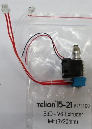 E3D - V6.1 Extruder Left - PT100
