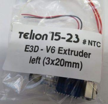 E3D-V6.1 Extruder left - NTC 100K sensor