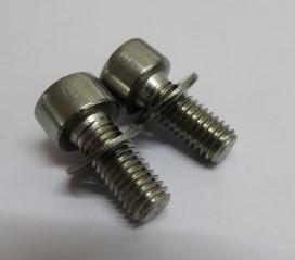 M5x12mm Socket cap screws & Washers (2)