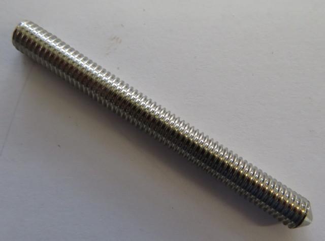Set screw M5 x 50 - cone tip