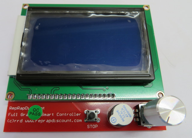 12864 LCD display with SD card socket