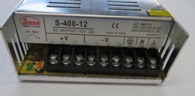 Power supply 12V - 400W