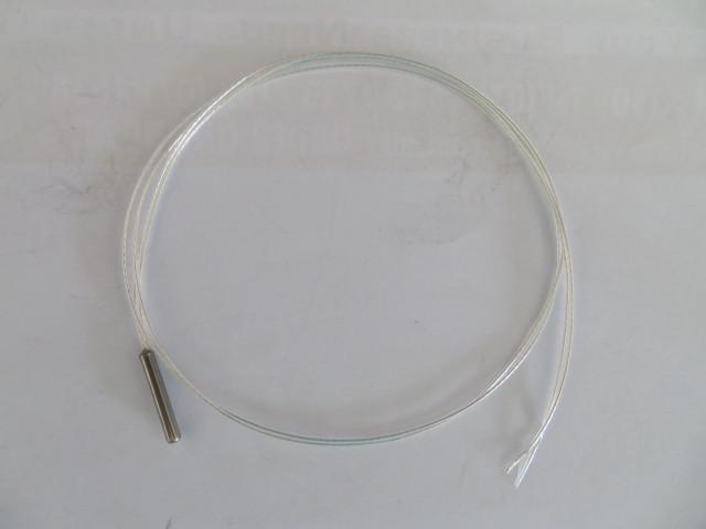 Temperature sensor - PT100 - 3x20mm shell - 500mm