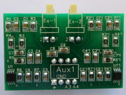Dual PT100 sensor amplifier for Ramps 1.4