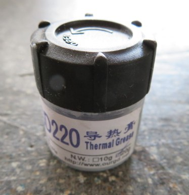 Thermal heat transfer paste / grease (grey)