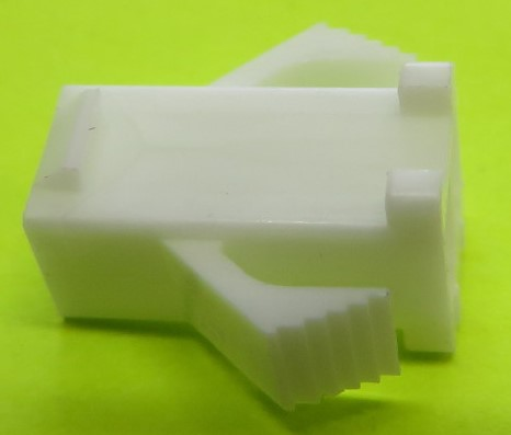 2 pin Plug shell for female contacts - SMR