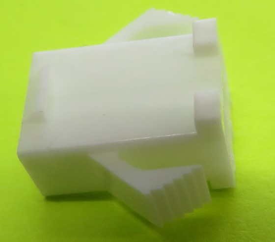 3 pin Plug shell for female contacts - SMR
