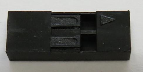 2 pin Dupont plug shell