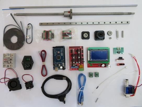 Parts to build a 3D Printer